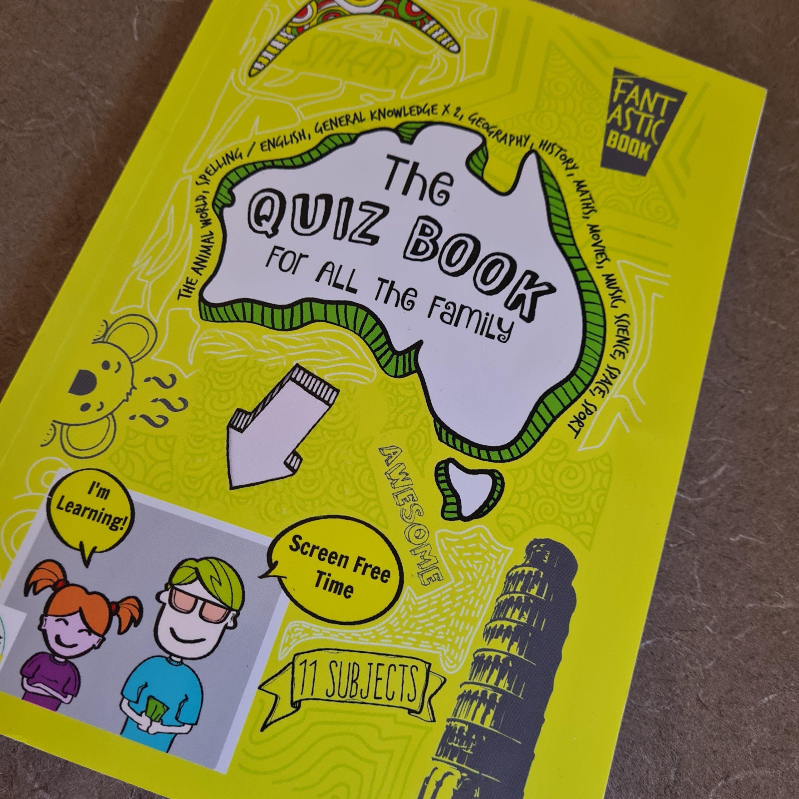 Travel Australia With Kids – Quiz Book